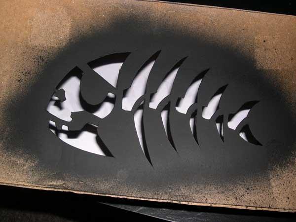 Make The Cut >> Pirate-Fish Stencil