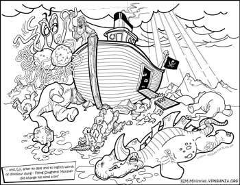 Coloring Book « Church of the Flying Spaghetti Monster