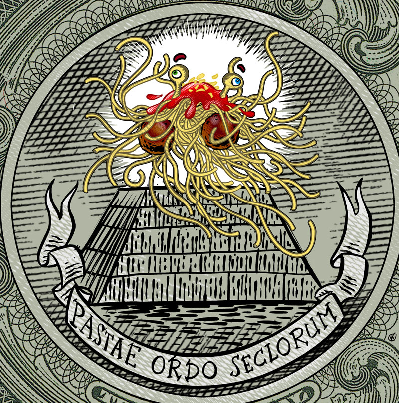 FSM currency « Church of the Flying Spaghetti Monster
