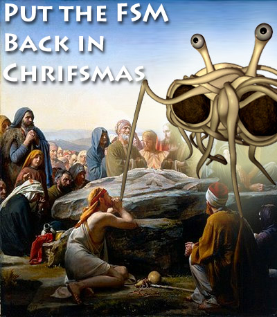 chrifsmas put the FSM back in chrifsmas