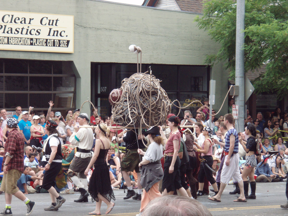fsm fremont summer solstice parade church of the flying