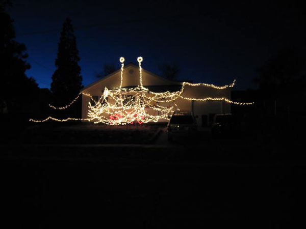 FSM Holiday lights « Church of the Flying Spaghetti Monster
