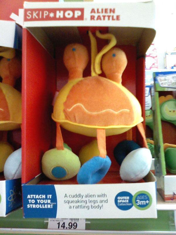 """Alien Rattle"" or the FSM, you be the judge"