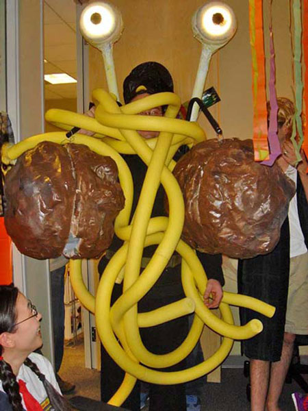 The FSM or maybe a costume