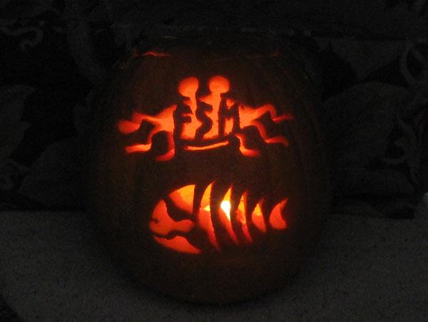 Mike A's pumpkin