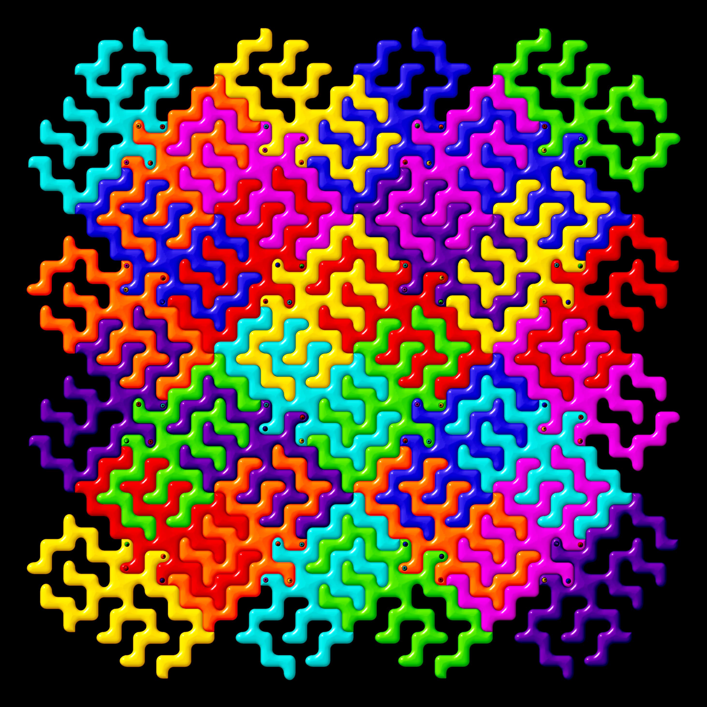 FSM tessellation « Church of the Flying Spaghetti Monster