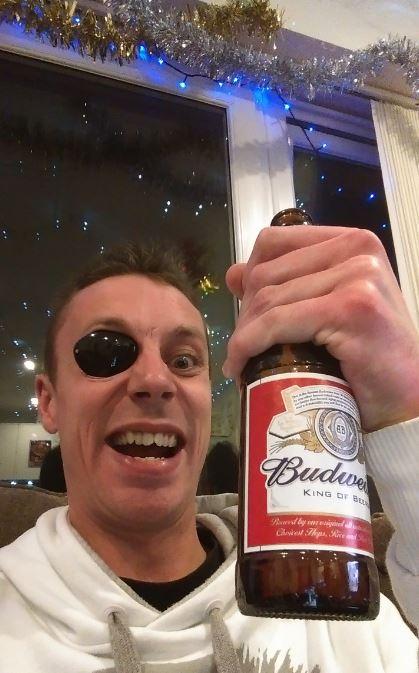 arr i have a beer